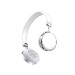 Auriculares Bluetooth Metálicos Silver