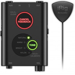 Interface Audio IK Multimedia iRig Interface/Micrófono Móvil para Guitarra Acústica