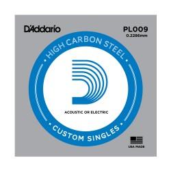 Cuerda Guitarra Eléctrica D'ADDARIO PL009