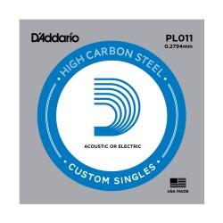 Cuerda Guitarra Eléctrica D'ADDARIO PL011