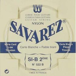 Savarez Carta Blanca 522B 2ª Clásica LT