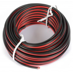 Cable Universal Rojo & Negro 10M 2 x 0.75mm