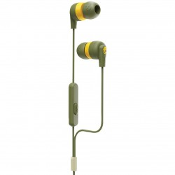 Auriculares Skullcandy INK'D+ Moss/Olive/Yellow