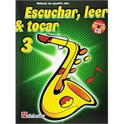 Escuchar, Leer & Tocar. Saxofón Alto 3 + CD