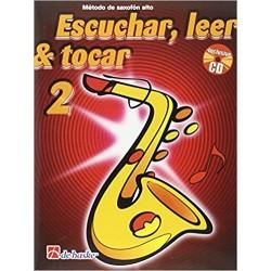 Escuchar, Leer & Tocar. Saxofón Alto 2 + CD