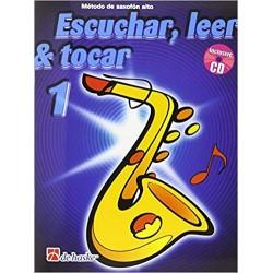 Escuchar, Leer & Tocar. Saxofón Alto 1 + CD