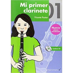 Mi Primer Clarinete Vol. 1 + CD