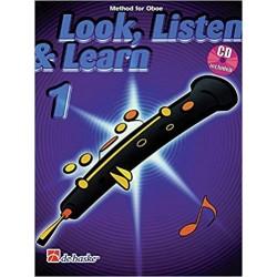 Escuchar, Leer & Tocar. Oboe 1 + CD (Versión Inglés)