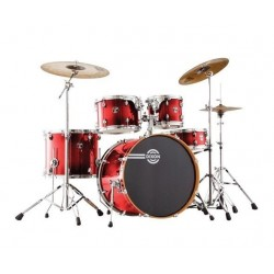 Dixon FS522 FUSE MAPLE Gloss Candy Red