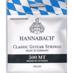 Hannabach 500 MT. Cuerdas de Guitarra Clásica-Flamenca