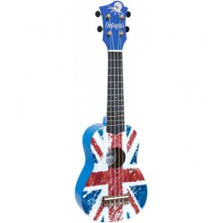 Ukelele Octopus Soprano UK-200UJB Union Jack Azul