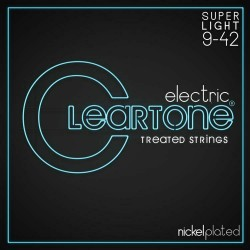 CLEARTONE Electric Nickel-Plated 9-42 Super Light