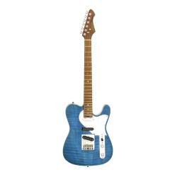 Guitarra Eléctrica ARIA 615-MK2 Nashville Azul Translúcido