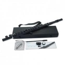 Flauta Travesera NUVO Student N-230SFBK Negra