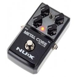 Nux Metal Core Deluxe Pedal Distorsión