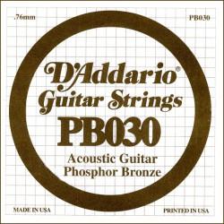 Cuerda Guitarra Acústica D'ADDARIO PB030