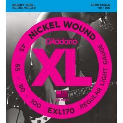 EXL170 Nickel Wound Bass, Light, Long Scale [45-100]