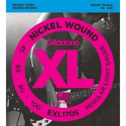 EXL170S - XL Nickel Wound Escala Corta