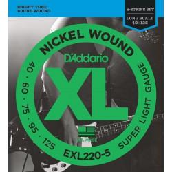EXL220-5 5-String Bass, Super Light, Long Scale [40-125]