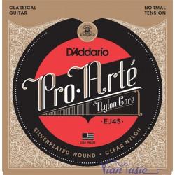 Juego Cuerdas D'Addario EJ45 - Pro Arte Normal