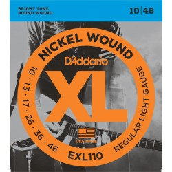 Cuerdas D'ADDARIO EXL110 - XL Regular Light [10-46]