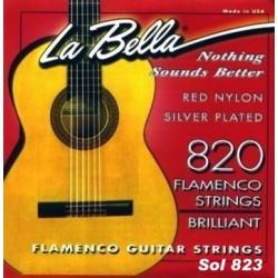 La Bella 823 3ª Flamenco Roja