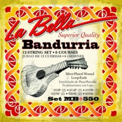 Juego de cuerdas LA BELLA de Bandurria