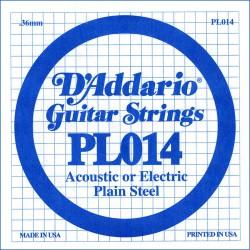 Cuerda Guitarra Eléctrica D'ADDARIO PL014