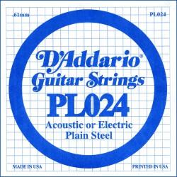 Cuerda Guitarra Eléctrica D'ADDARIO PL024