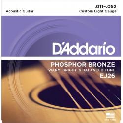 EJ26 - Phosphor Bronze Custom Light [11-52]