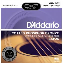 D'Addario EXP26 - Phosphor Bronze Custom Light [11-52]