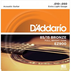 D'Addario EZ900 - 85*15 GREAT AMERICAN EXTRA LIGHT [10-50]