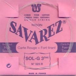 Savarez Carta Roja 523R 3ª Clásica HT