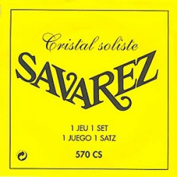 Savarez juego Clásica Cristal Soliste 570-CS