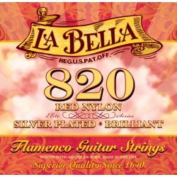 La Bella 820 Flamenco Roja
