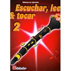 Escuchar, Leer & Tocar. Clarinete 2 + CD