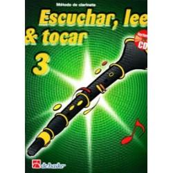 Escuchar, Leer & Tocar. Clarinete 3 + CD