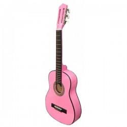 Guitarra Rocío C7N (1/2) 85 cms Rosa