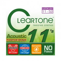 Cleartone Acoustic PHOSPHOR BRONZE 11-52 Custom Light