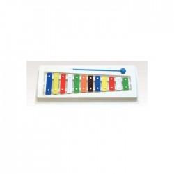 Metalofon Goldon 12 Notas Colores 11003 Plástico